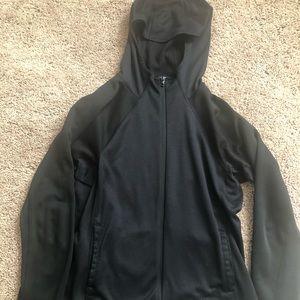 North Face flash dry zip up hoodie.